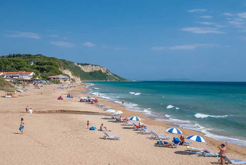 Car Hire In Gardeno Beach Corfu By Eurorent Economy Airport Car Rental