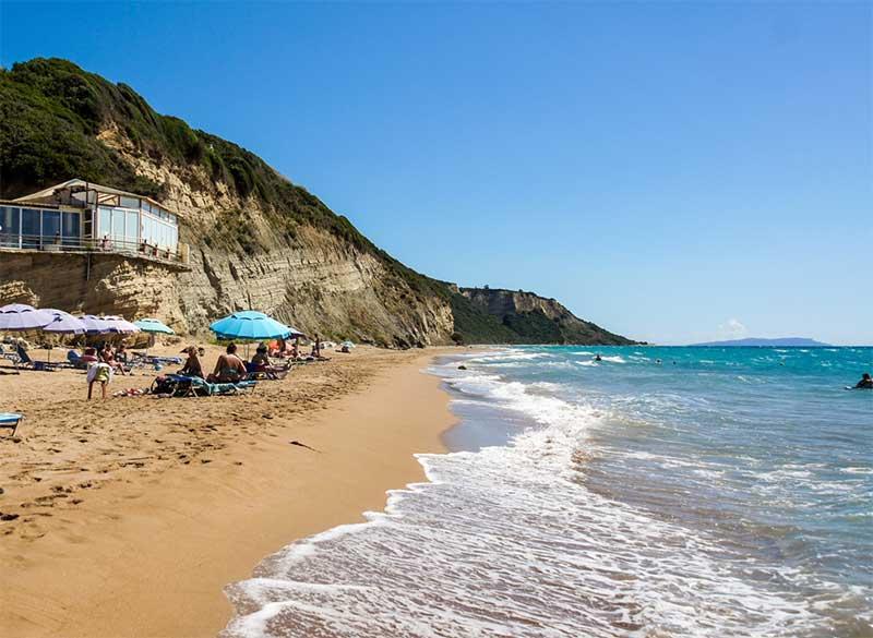 Cheap Car Hire In Perivoli Santa Barbara Beach Corfu, Eurorent Economy Car Rental