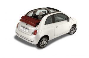 Fiat 500 Cabrio Eurorent Corfu